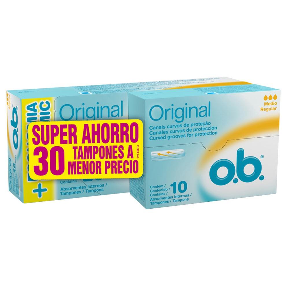 Tampon Ob digital medio 20 + 10 und precio especial