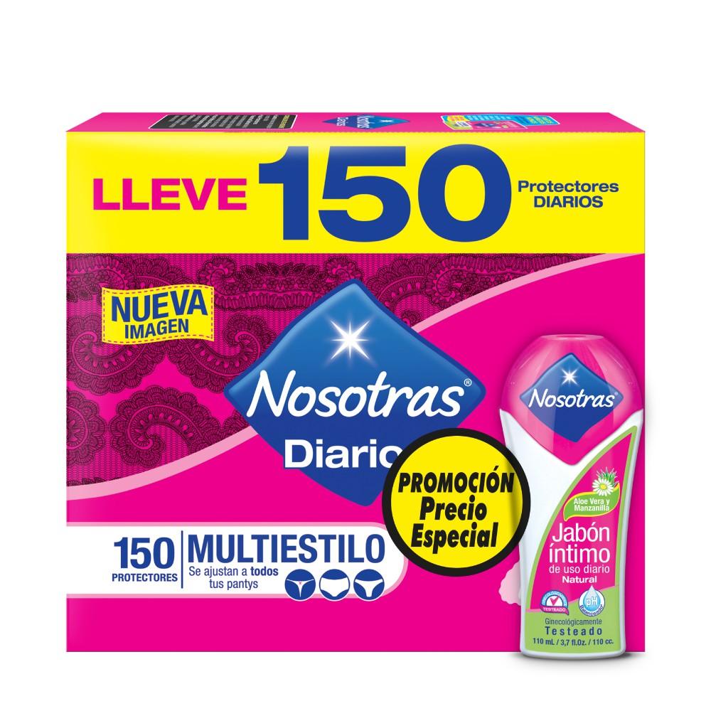 Protectores Diarios Nosotras Multiestilo