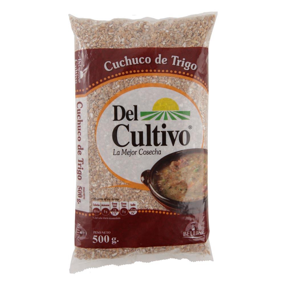 Cuchuco del cultivo trigo