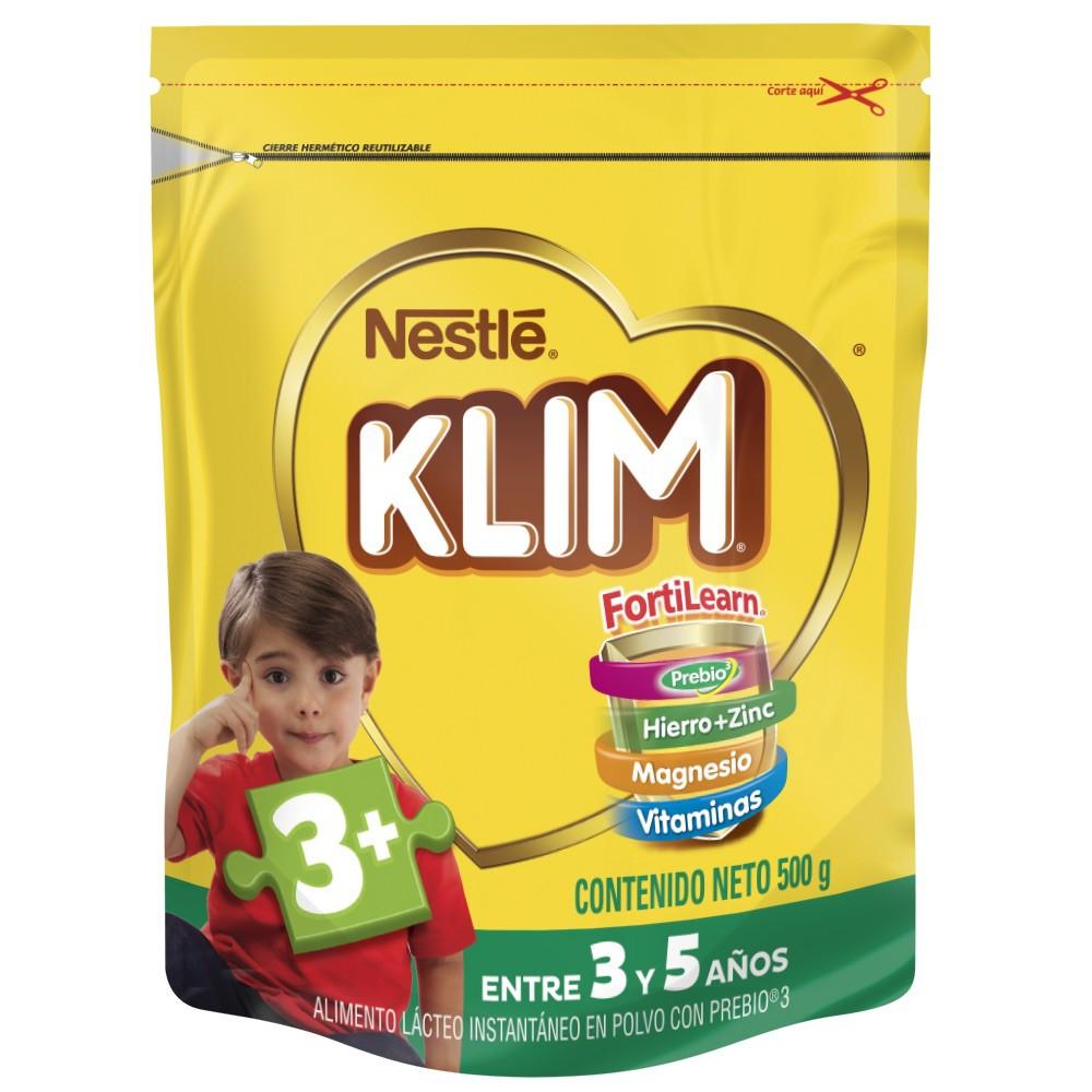Alimento Lácteo instantáneo Klim 3+con Prebióticos