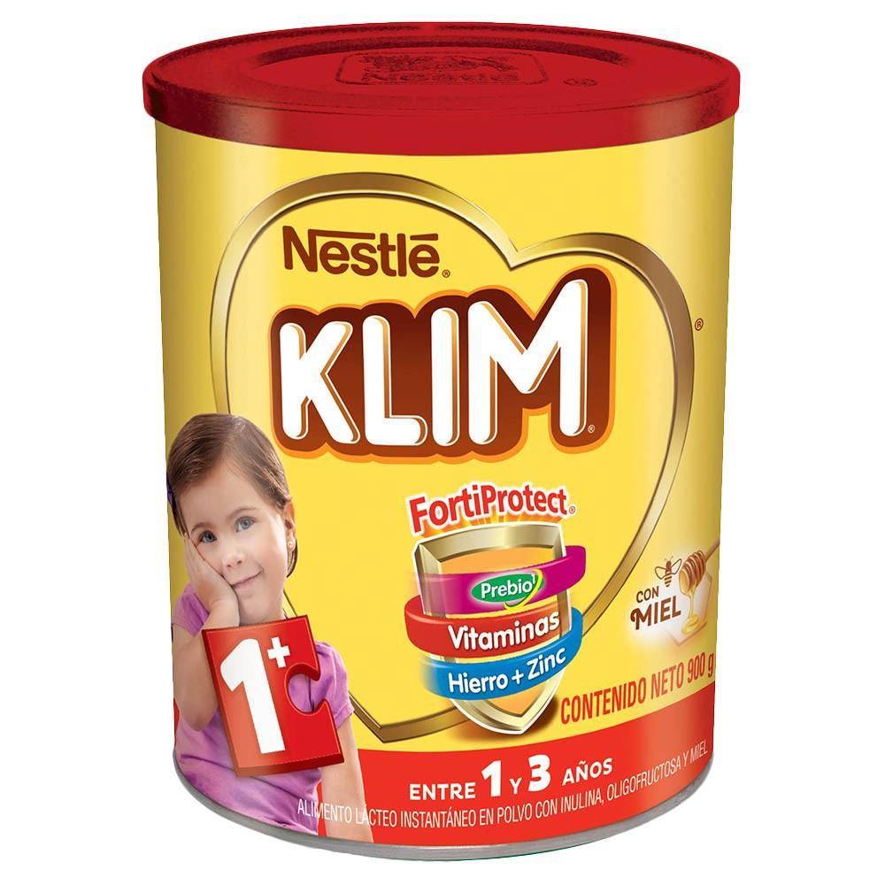 Alimento Lácteo en polvo Klim 1 + con Prebióticos y miel x 900 g