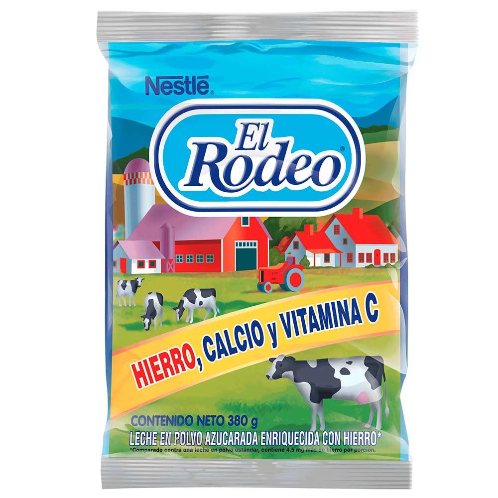 Leche en Polvo El Rodeo con Hierro