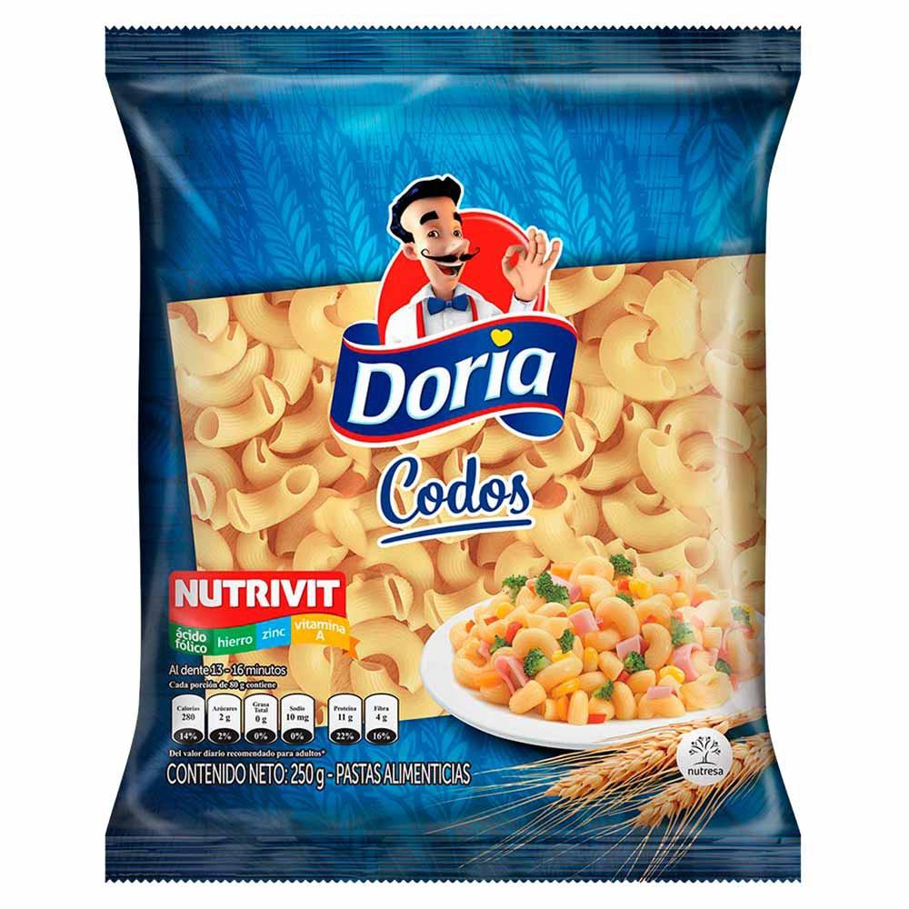 Pasta Clásica Codos Doria