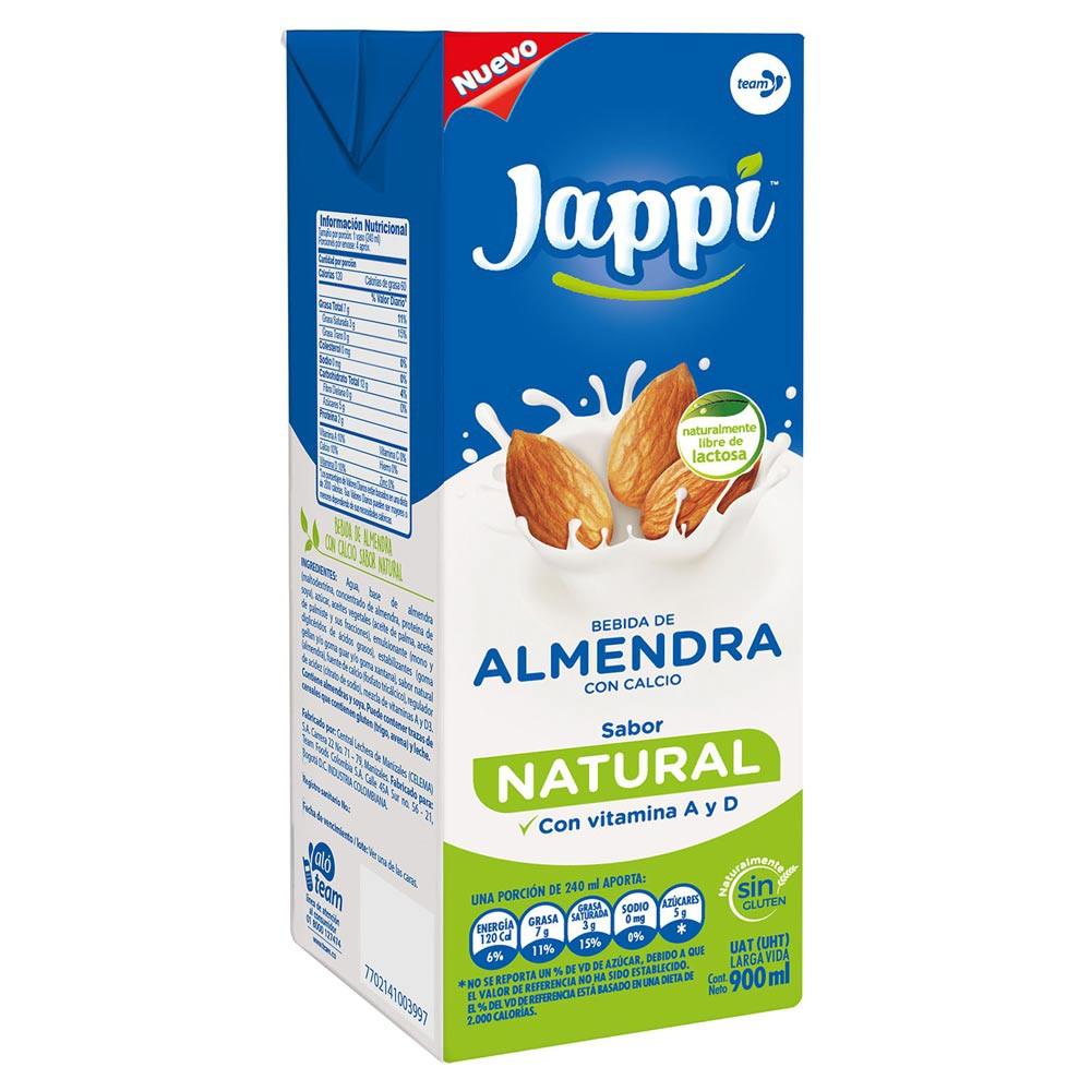 Bebida Jappi almendra natural