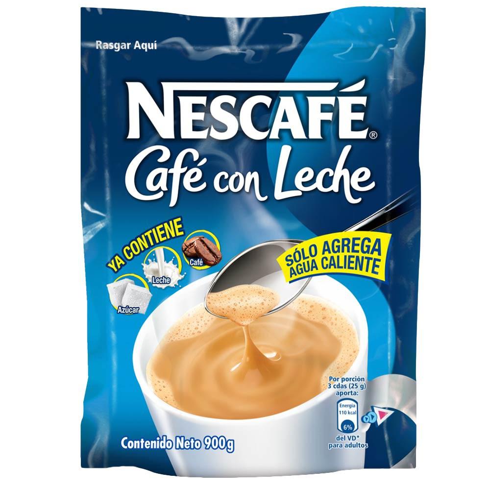 Nescafé café con leche Doy Pack x 900g.
