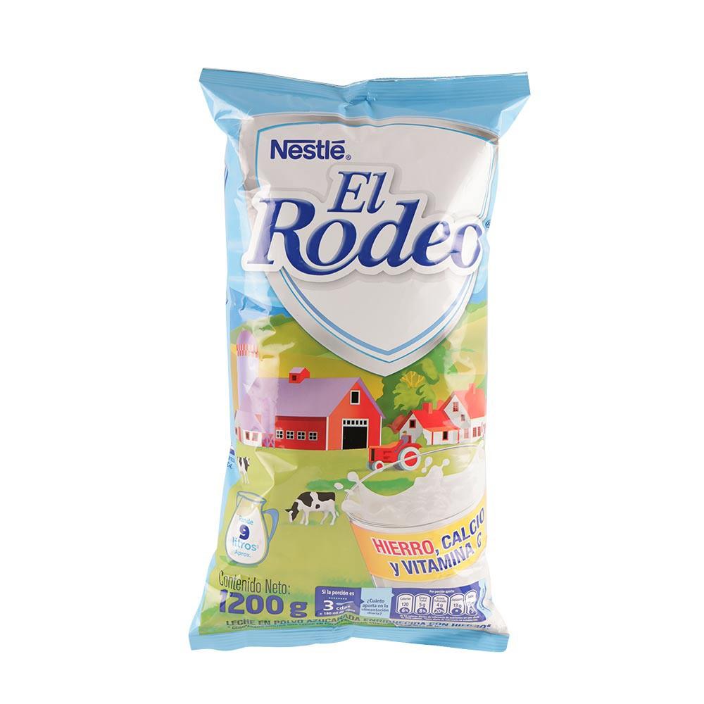 Leche en polvo El Rodeo bolsa x1200g