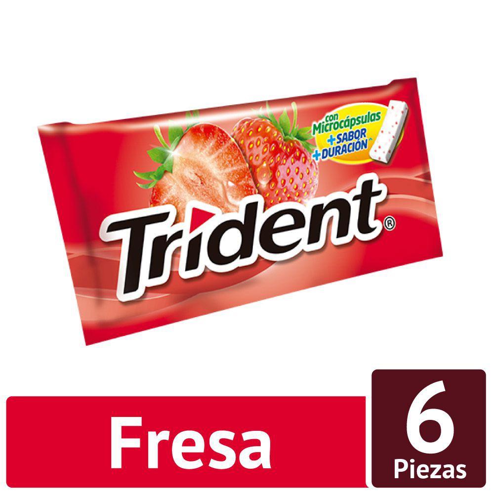 Chicle sin azúcar sabor fresa