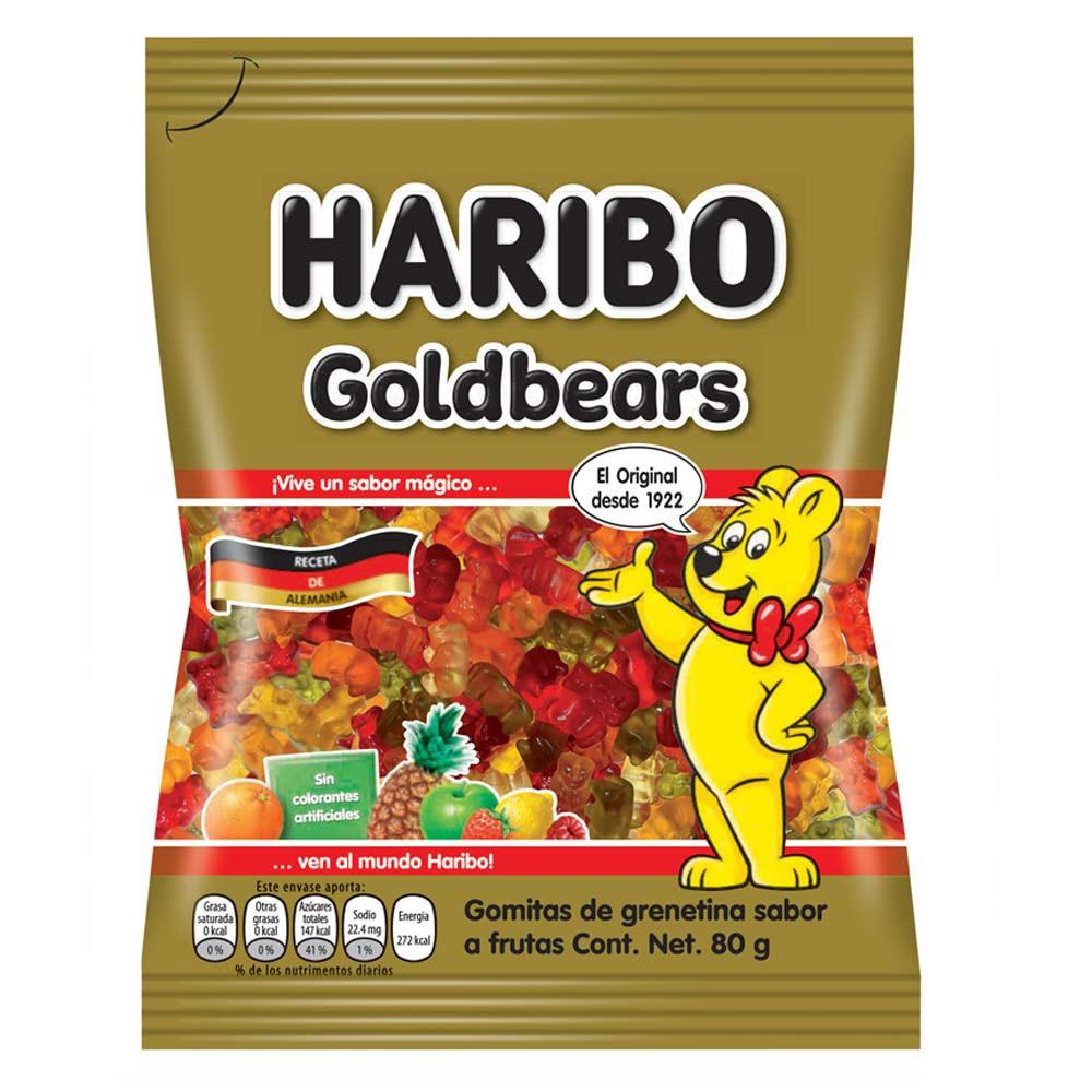 Gomitas Haribo osos dorados