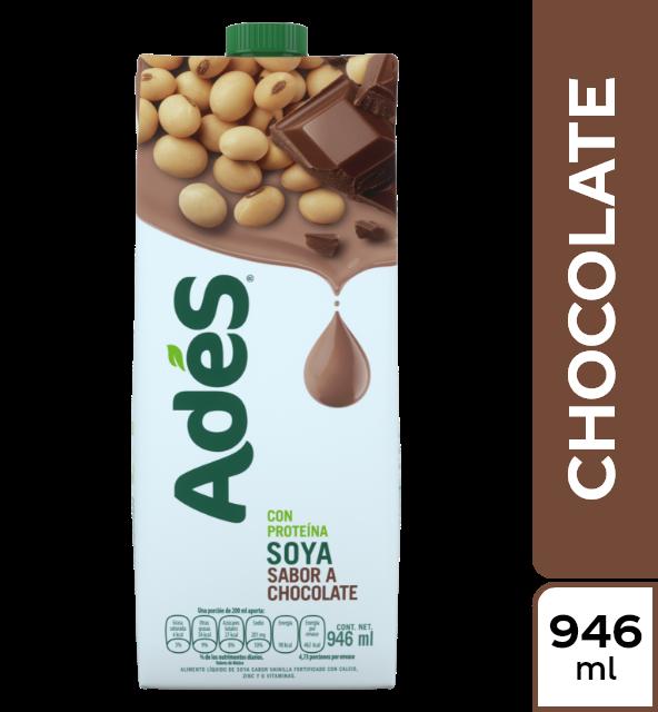 Alimento liquido Ades soya chocolate