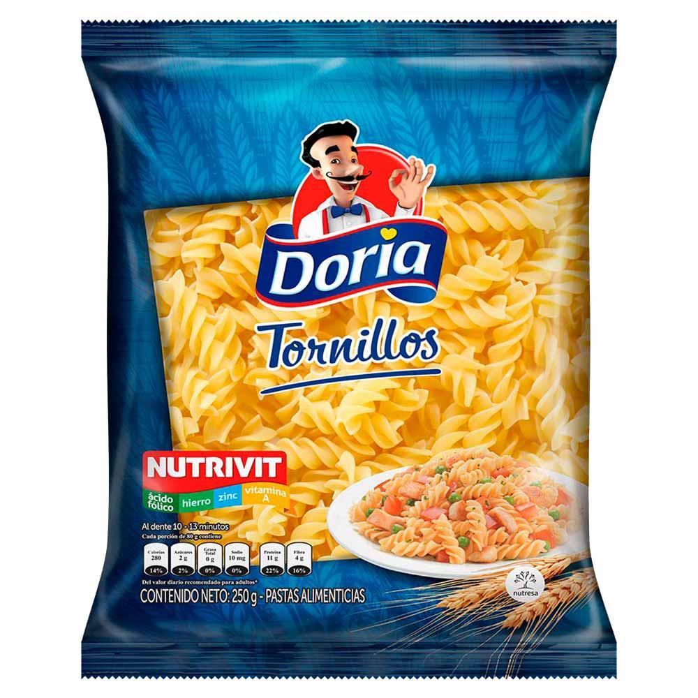 Pasta Clásica Tornillos Doria