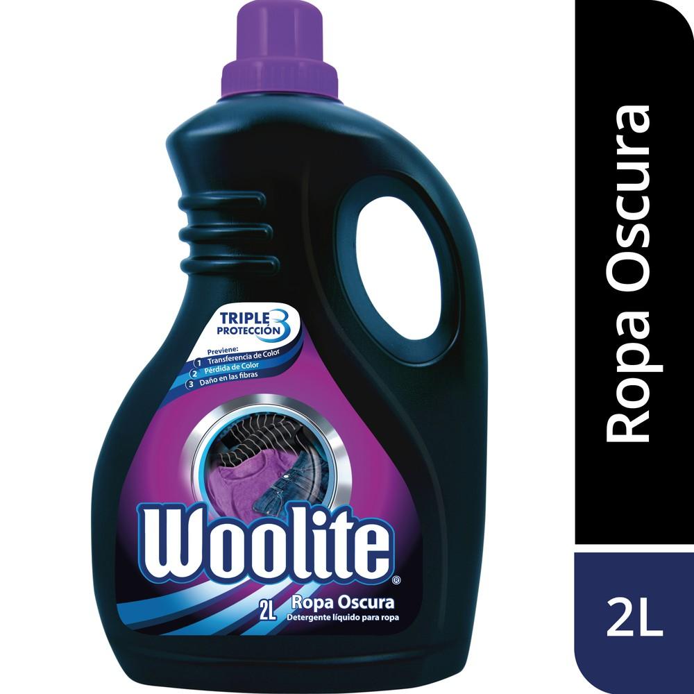 Detergente líquido ropa oscura