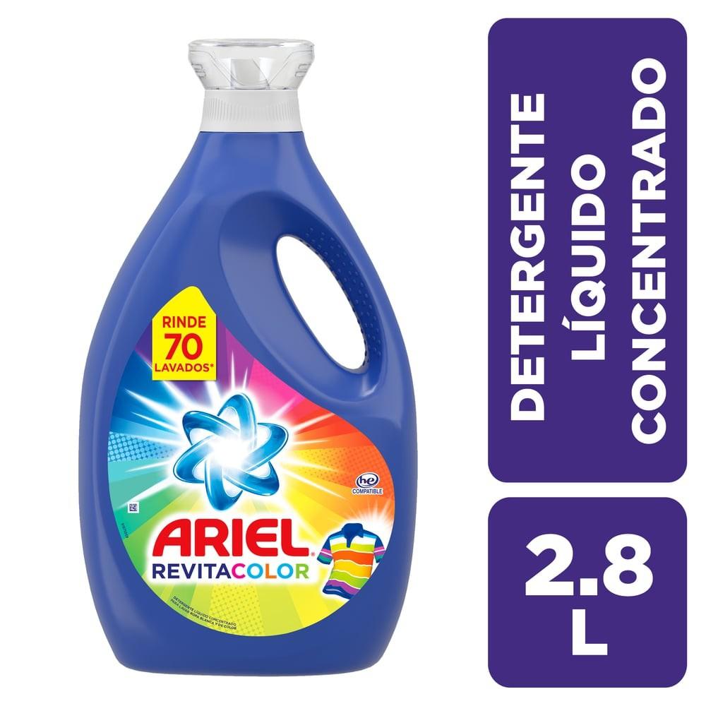 Detergente líquido revitacolor