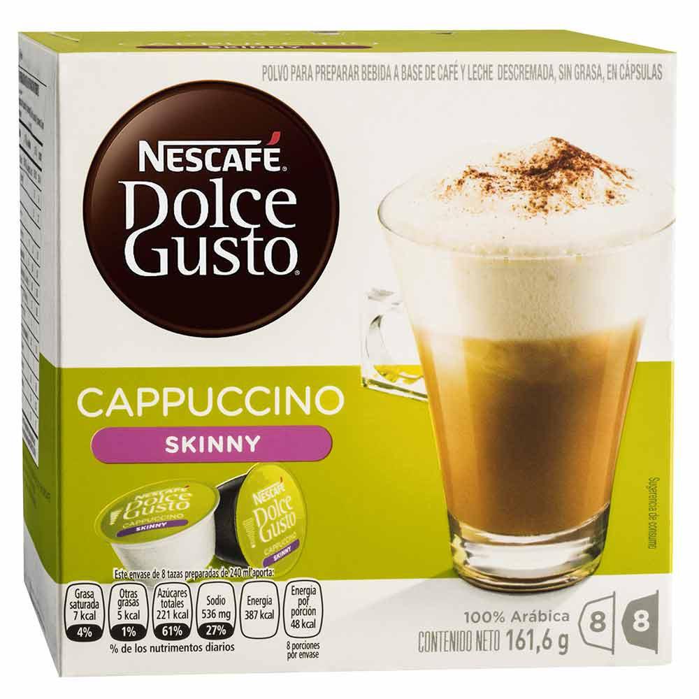 Cápsula Nescafé Dolce Gusto Cappuccino Skinny 8 Tazas Preparadas
