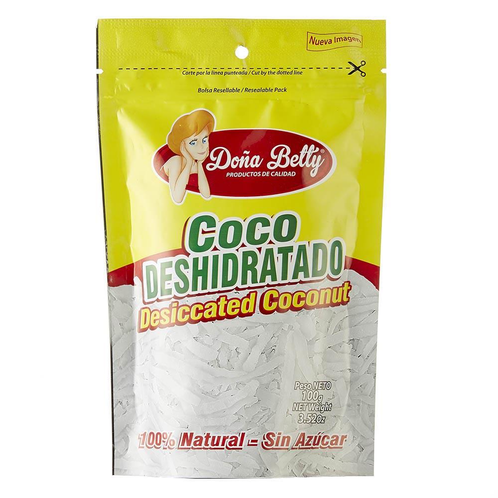 Doña betty coco deshidratado