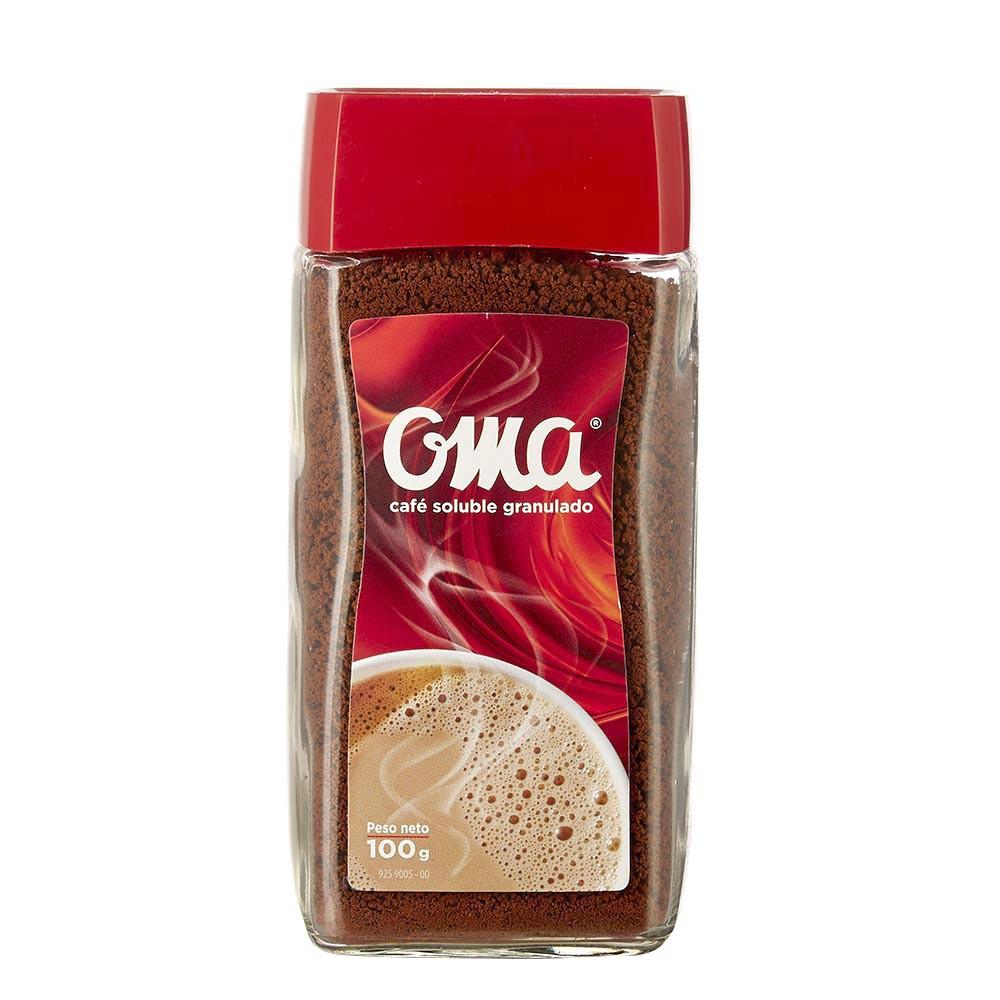 Café soluble granulado Oma