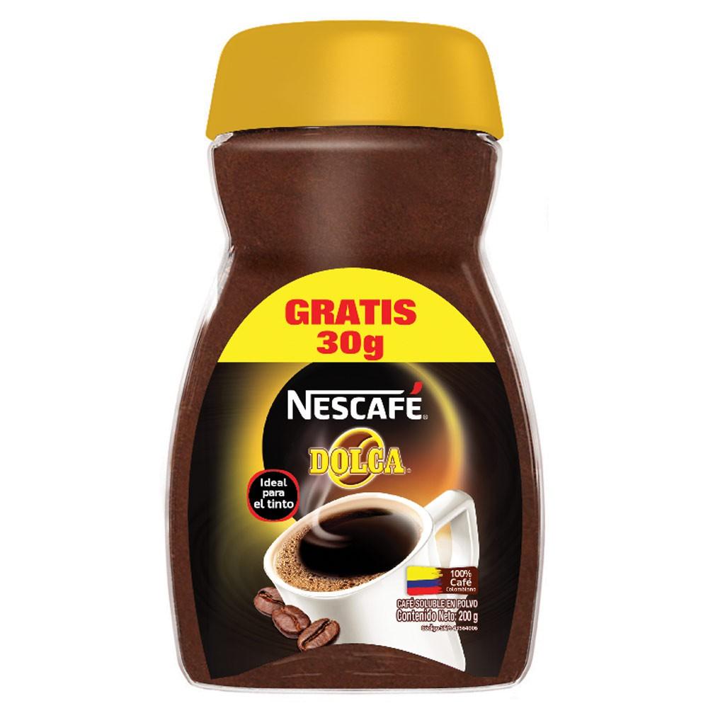 Nescafé Dolca x 170 g gratis 30 g
