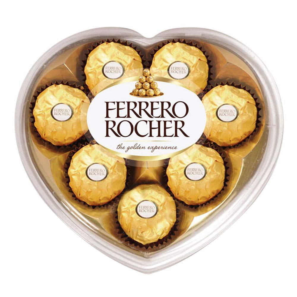 Estuche corazón Ferrero rocher