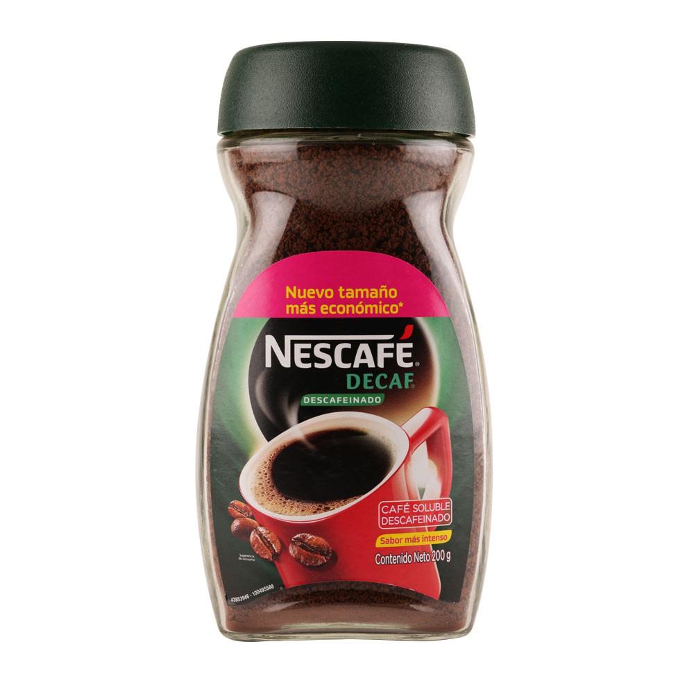 Café Nescafé decaf descafeinado x 200 g