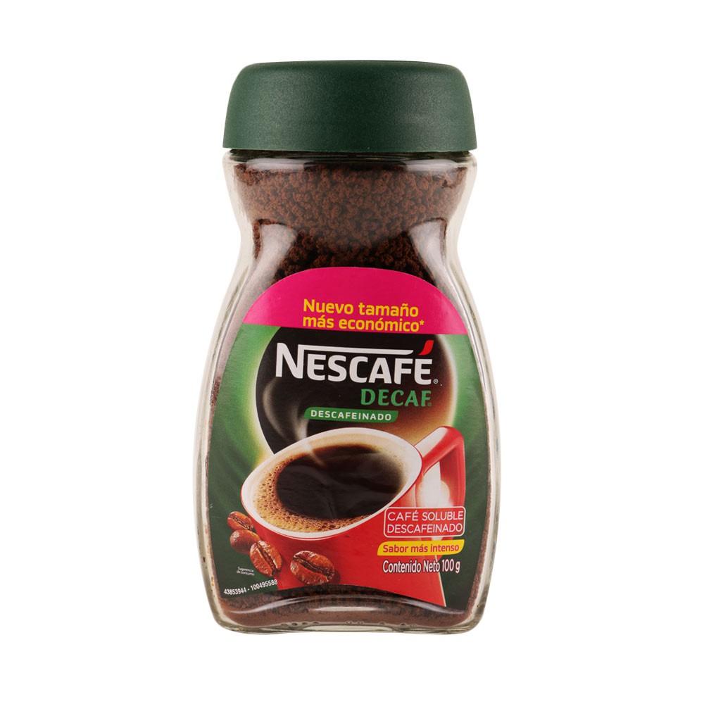 Café Nescafé decaf descafeinado