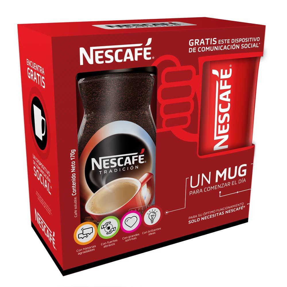 Café Nescafé tradición soluble