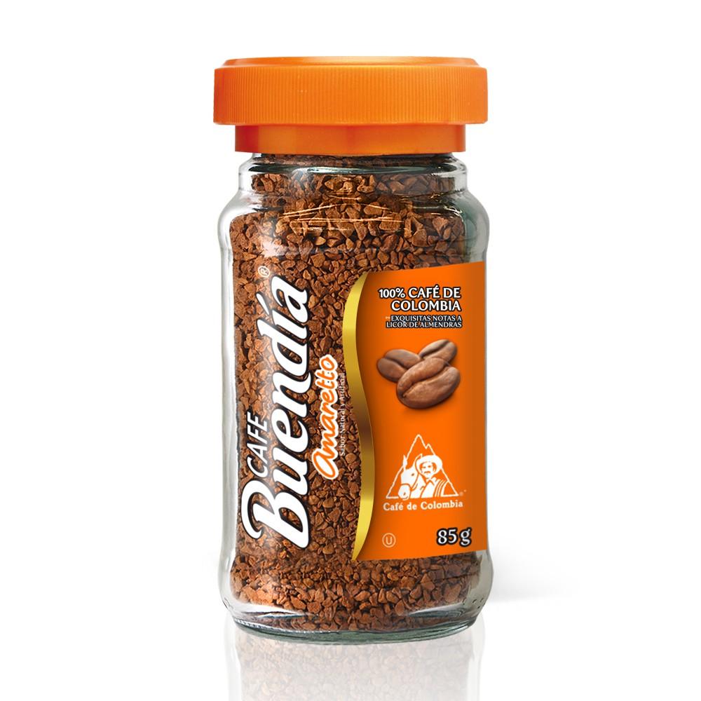 Café amaretto soluble