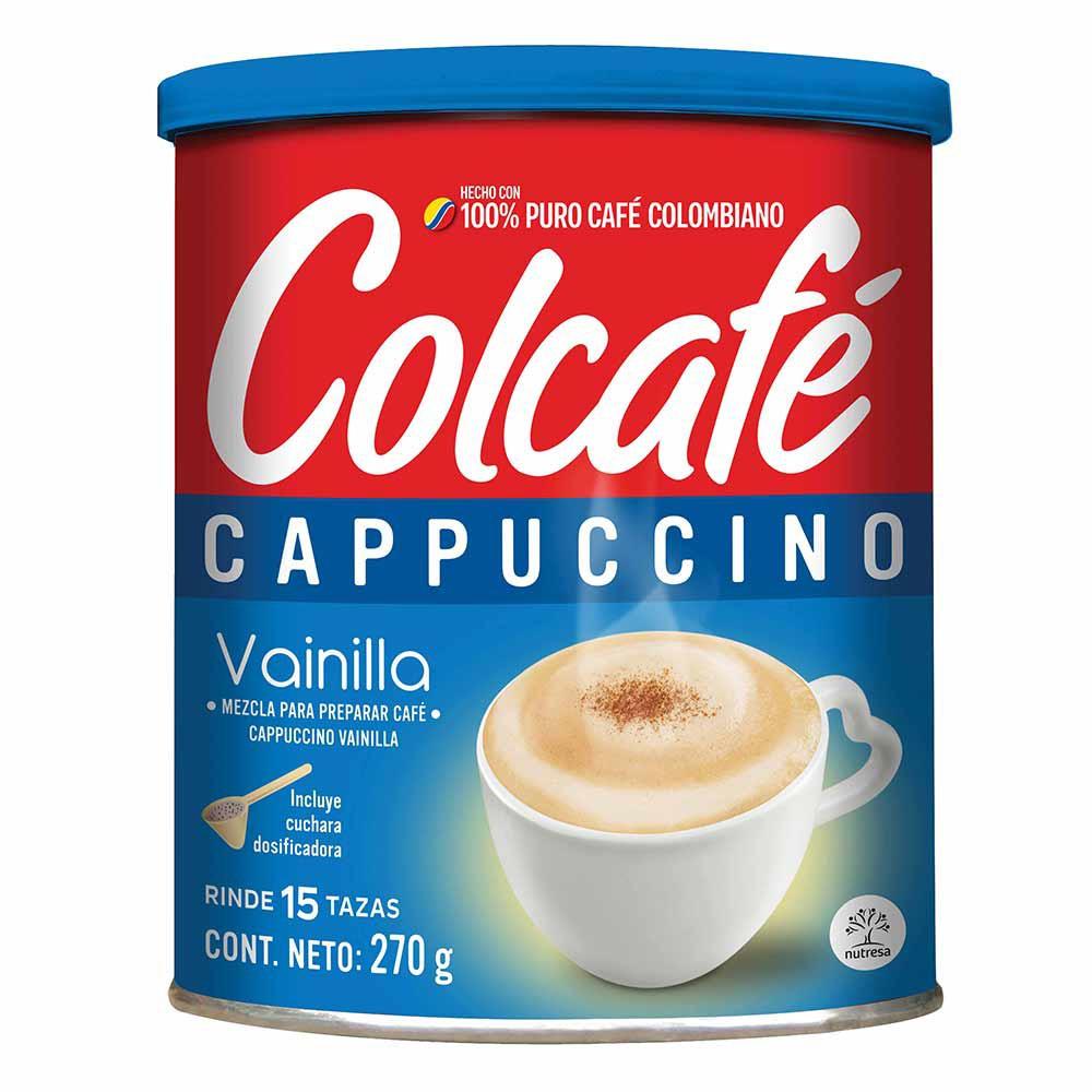 Café Cappuccino Vainilla Colcafé
