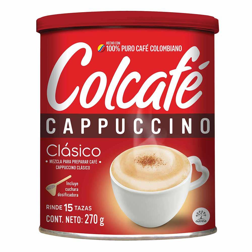 Café Cappuccino Clásico Colcafé x 270 g.