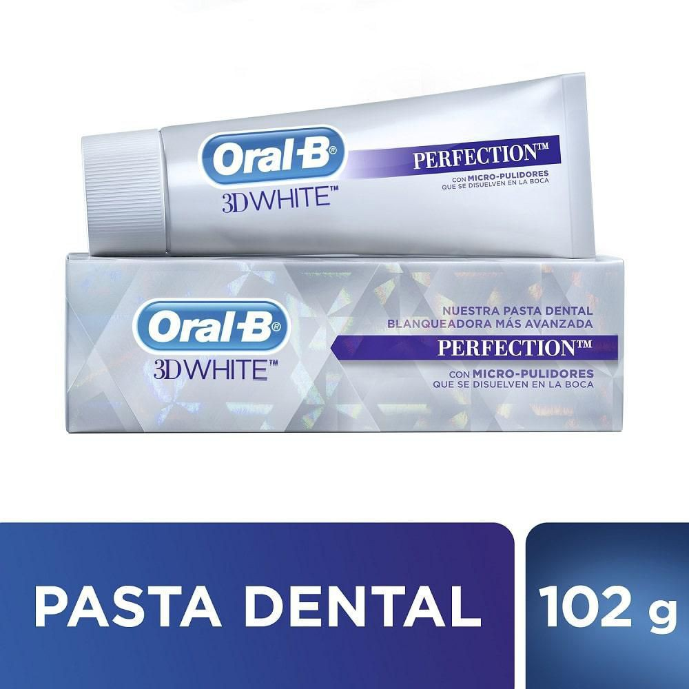 Crema dental 3d white perfection