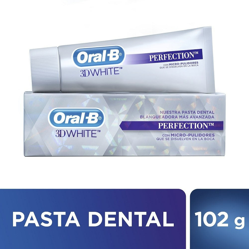 Crema dental 3d white perfection