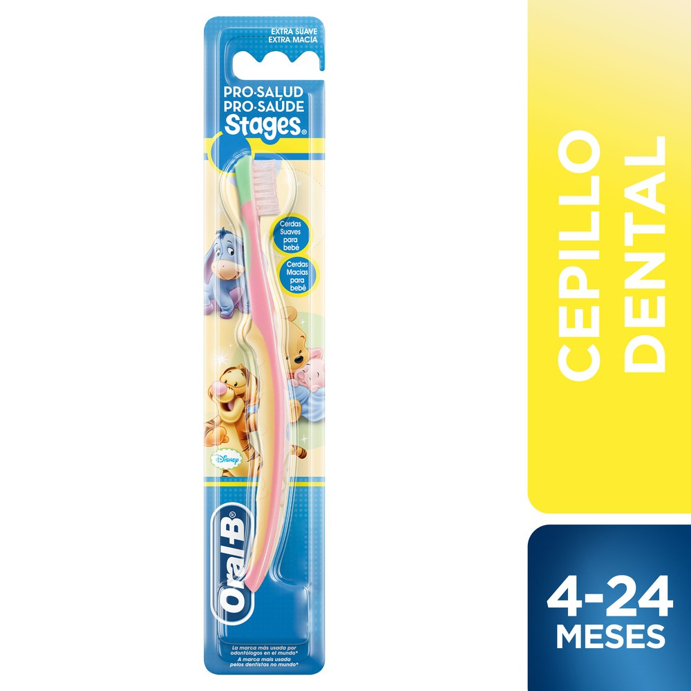 Cepillo dental pro-salud stages winnie the pooh baby