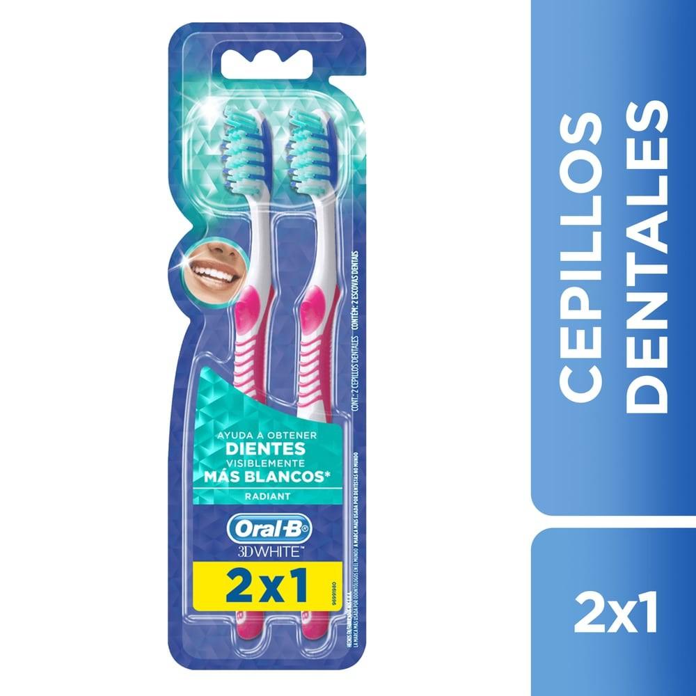 Cepillo dental 3d white radiant