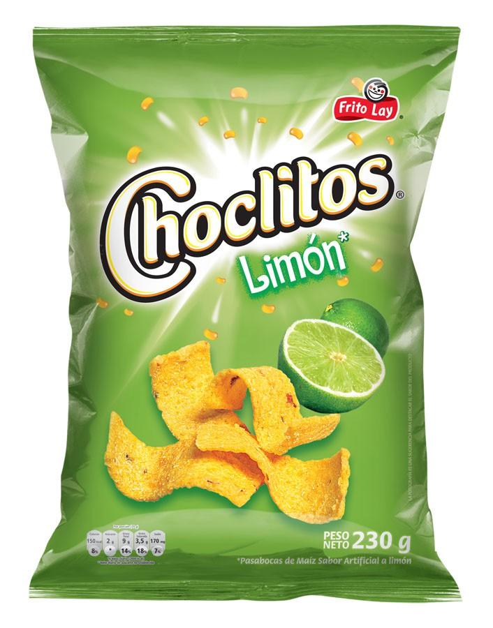 Pasabocas de maíz limón frito lay