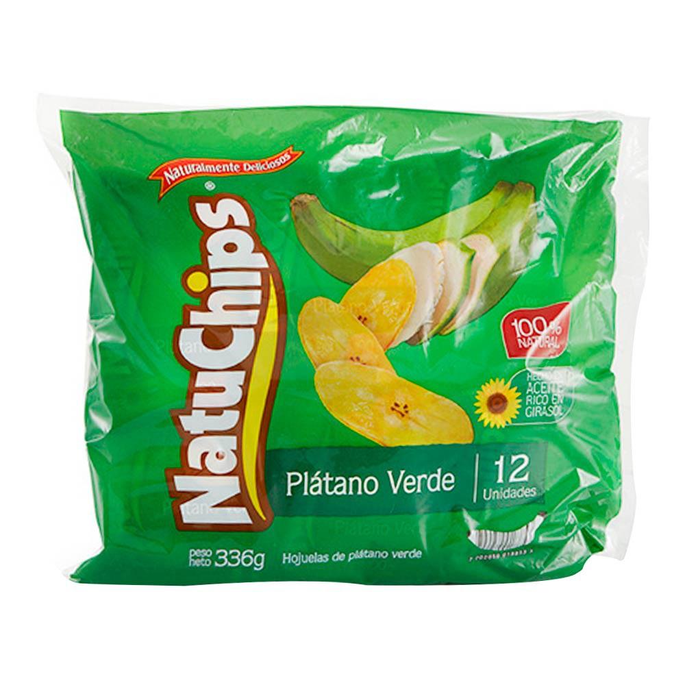 Plátano verde 100% natural