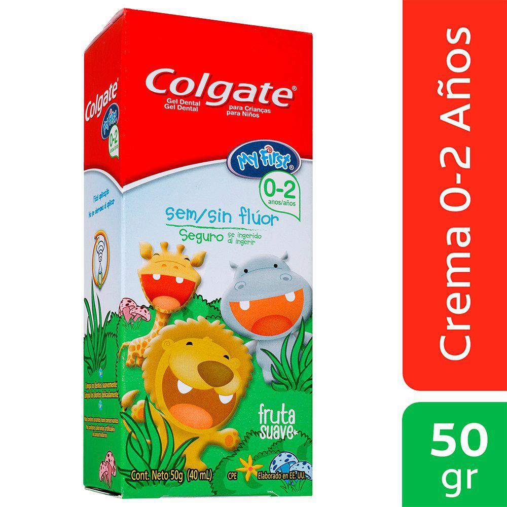 Crema dental sin fluor niños 0+