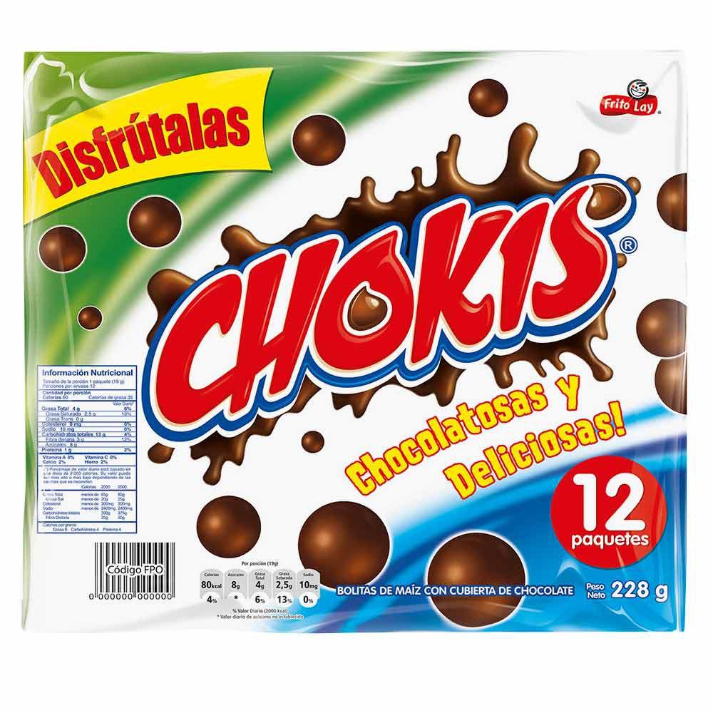 Bolitas De Chocolate Chokis 12 Und