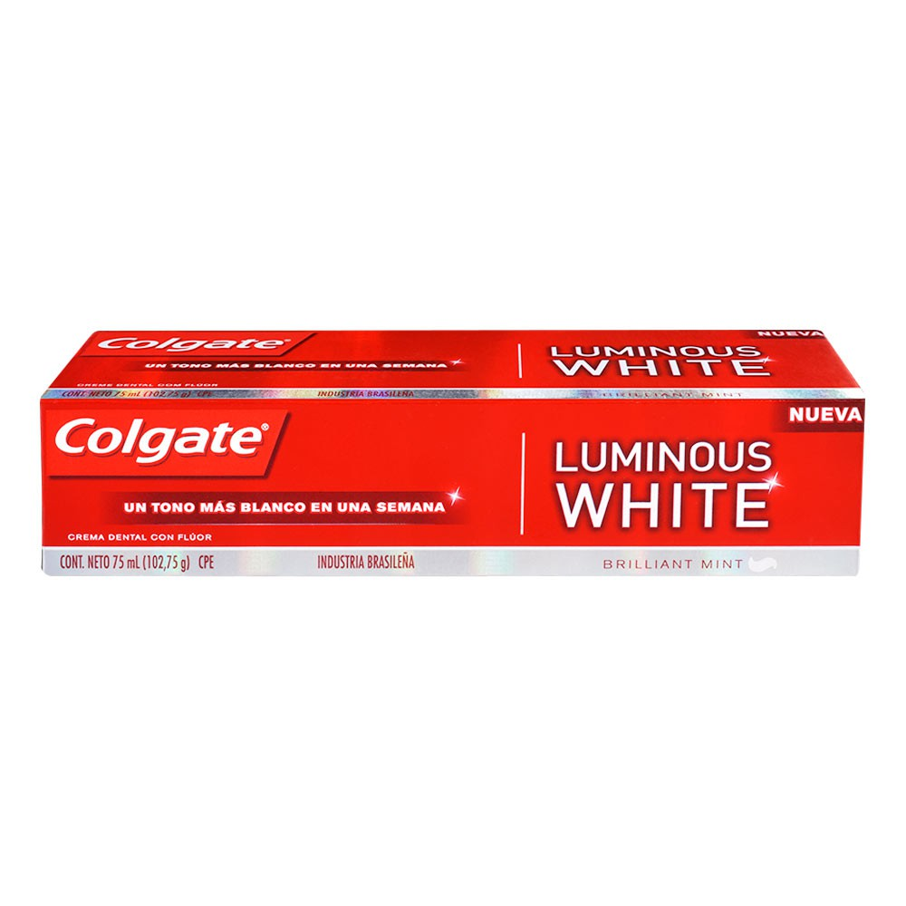 Crema Dental Luminous White x 75 ml