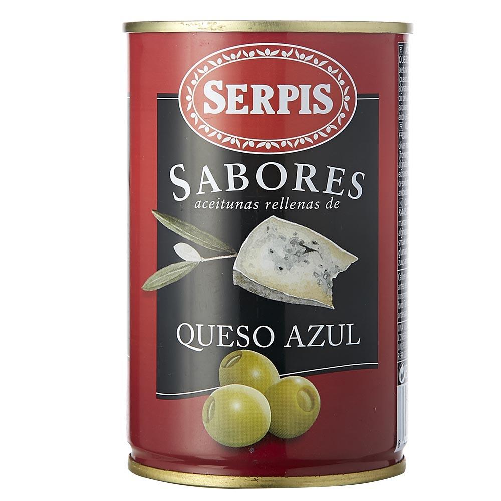Aceitunas SERPIS rellena de queso azul