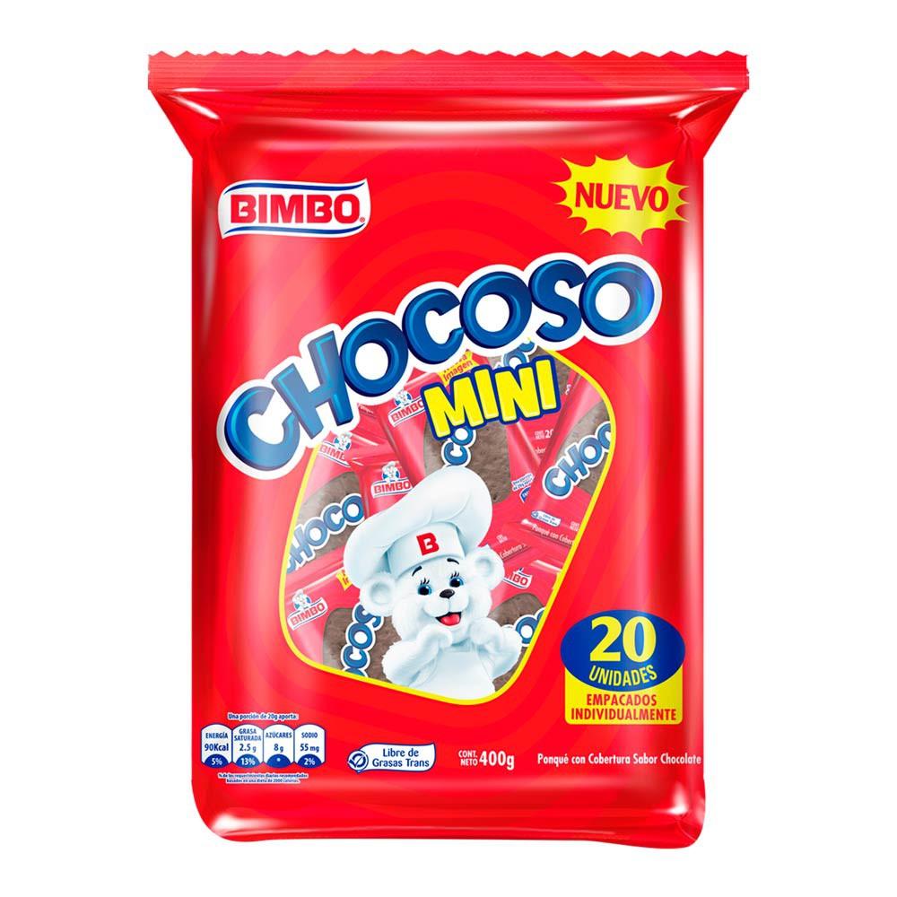 Ponqué Chocoso mini