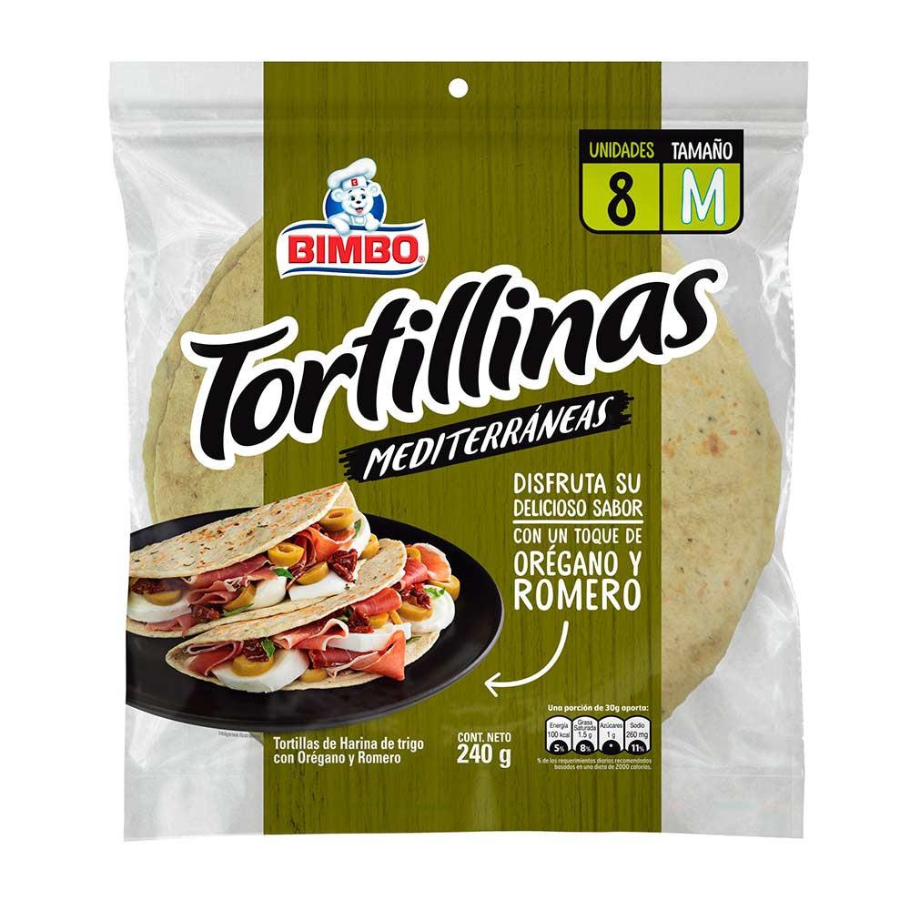 Tortillas mediterráneas orégano y romero