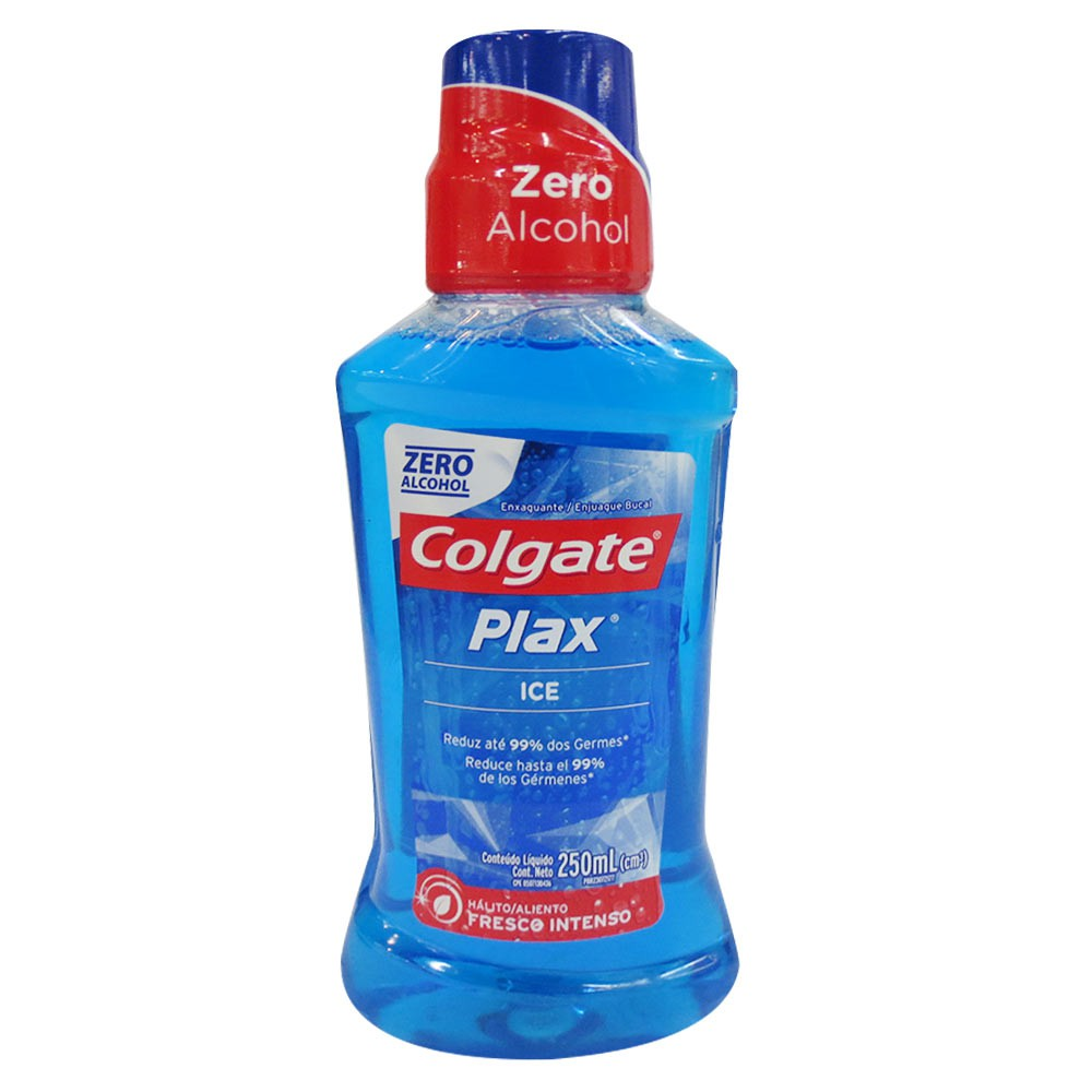 Enjuague Bucal Colgate Plax Ice Zero Alcohol 250ml
