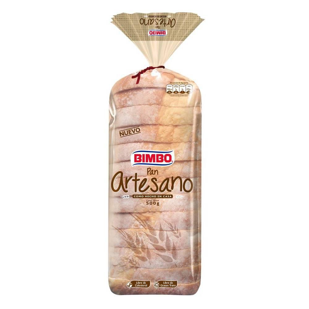 Pan artesano blanco