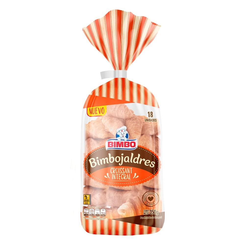Bimbojaldres Bimbo croissant integrales