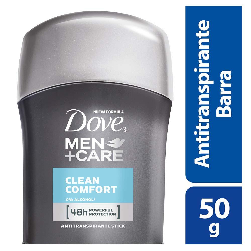 Desodorante en barra Dove clean comfort x 50 g