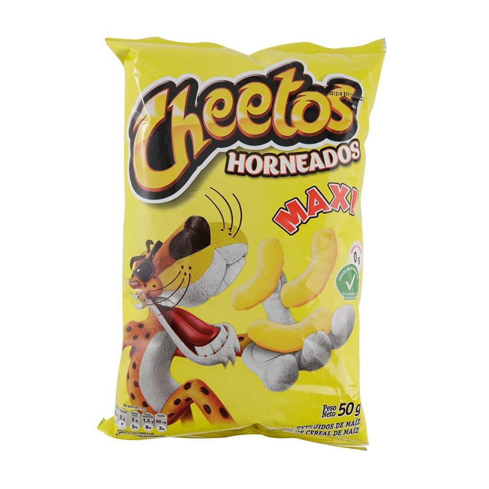 Pasabocas Cheetos horneados maxi x 50 g