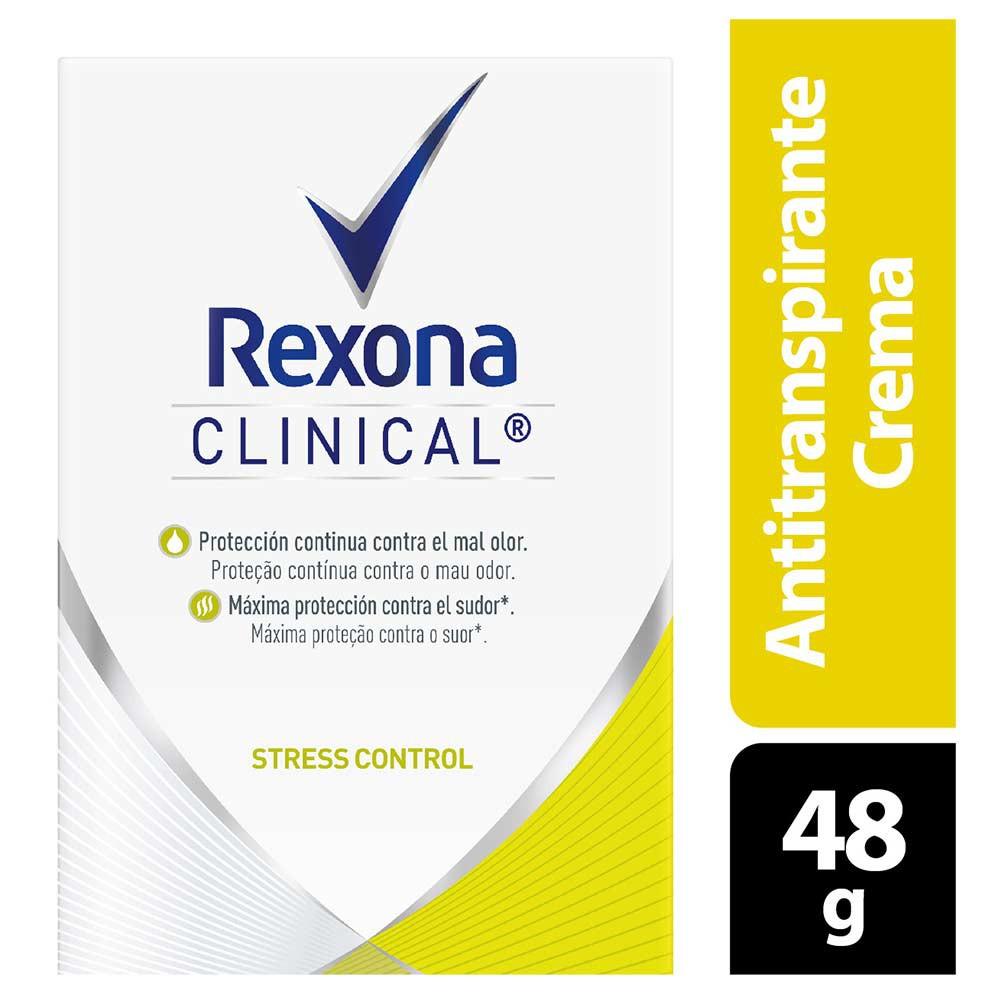 Desodorante Rexona clinical stress control women crema