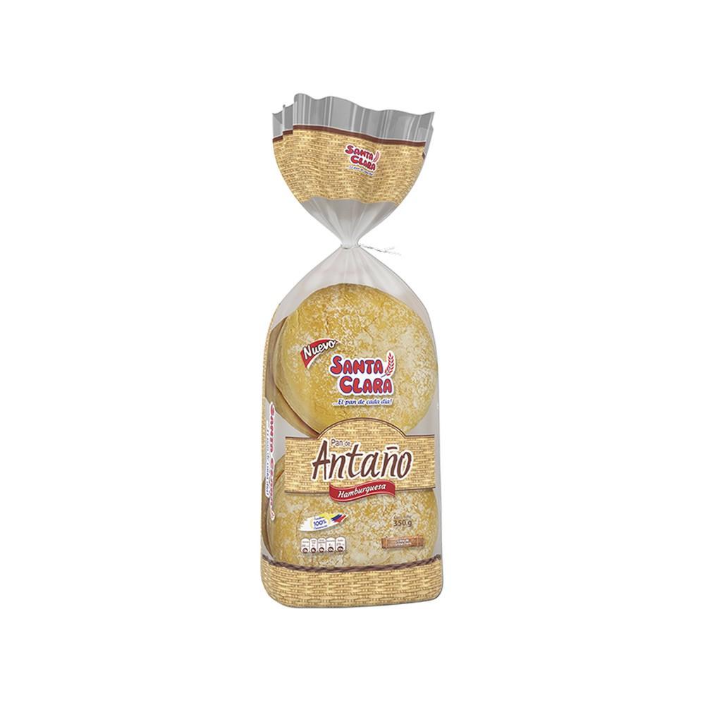 Pan Santa Clara integral antano tajado x 450 g