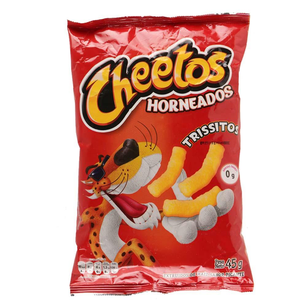 Pasabocas Cheetos horneados trissitos picante x 45 g