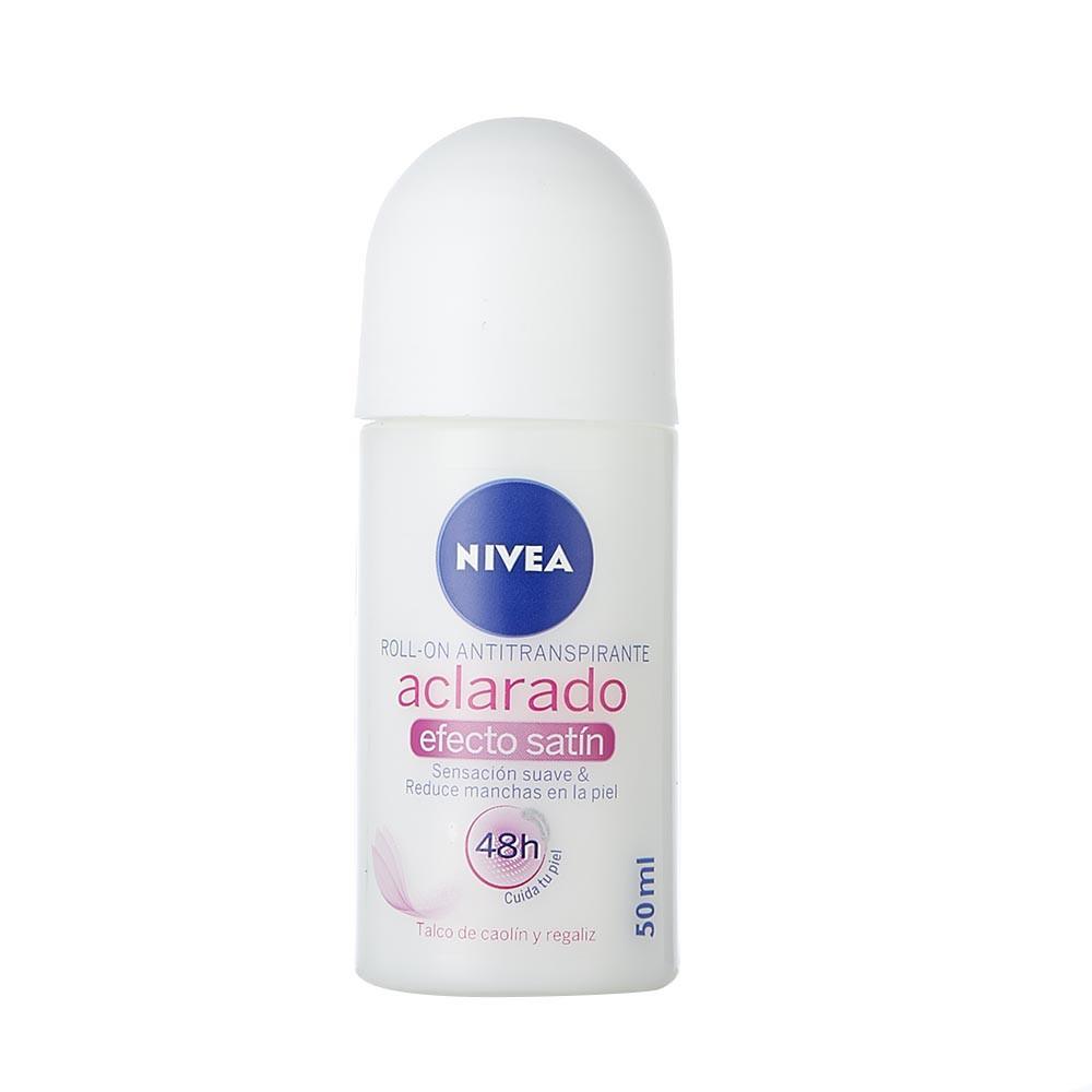 Desodorante roll on aclarado satín Nivea