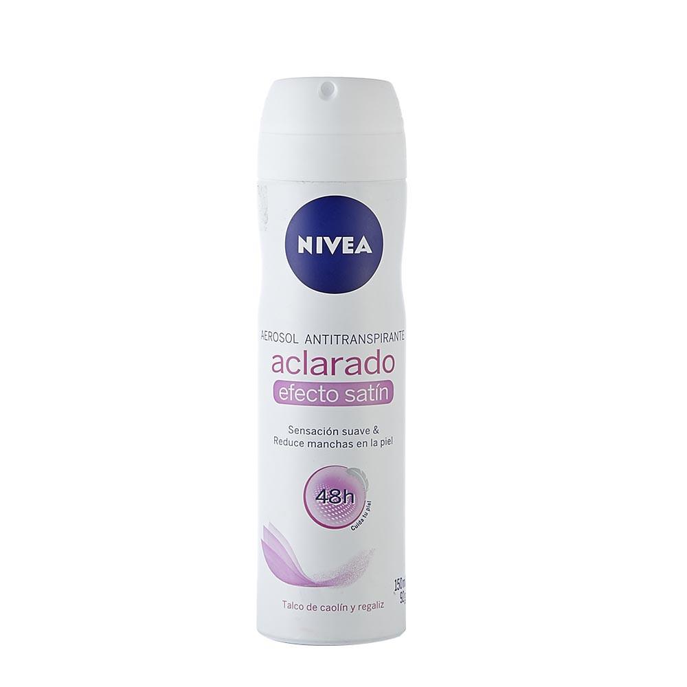 Desodorante aerosol aclarado satín Nivea
