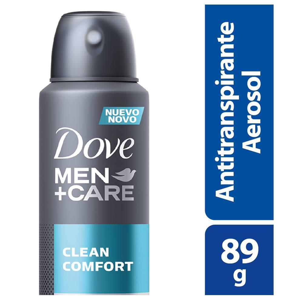 Desodorante antitranspirante en aerosol Dove clean comfort